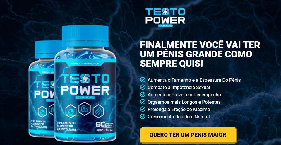 testo power caps ingredientes